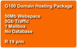 Domain Hosting G100