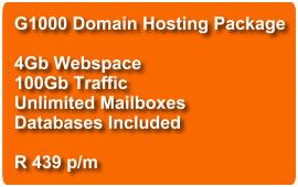 Domain Hosting G1000