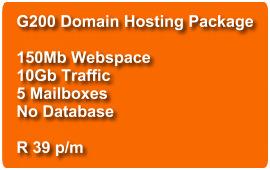 Domain Hosting G200