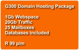 Domain Hosting G300