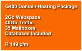 Domain Hosting G400