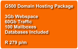 Domain Hosting G500